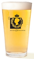 Queen Charlotte Beer Glass
