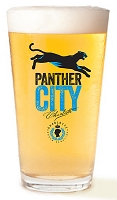 Panther City Beer Glass