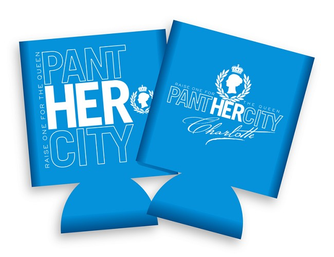 Panther City Koozie
